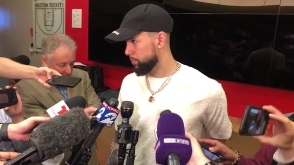 Postgame Interviews: Austin Rivers 4-17-19