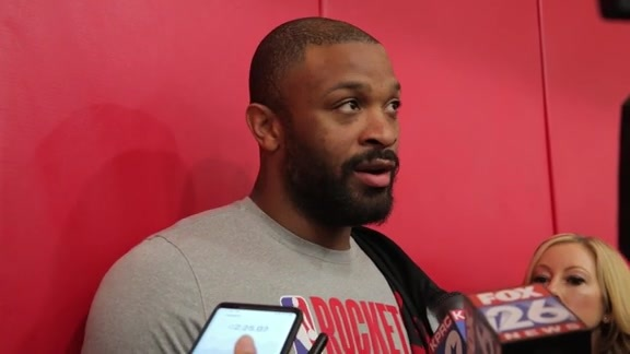 Practice Interviews: PJ Tucker 10/13/19
