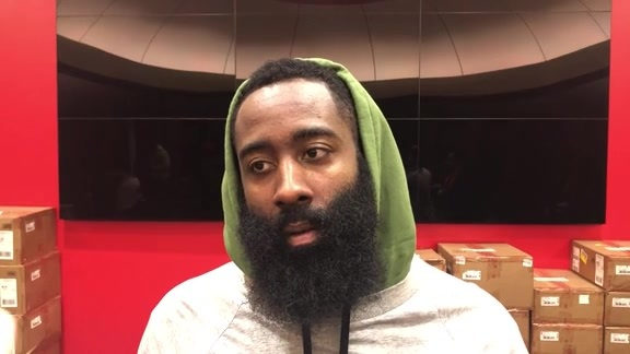 Postgame Interviews: James Harden 10-16-19