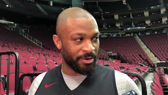 Practice Interviews: PJ Tucker 10/17/19