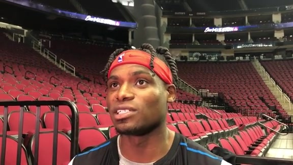 Practice Interviews: Danuel House Jr. 10/22/19