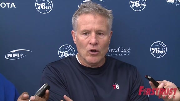 Practice | Brett Brown (01.17.18)