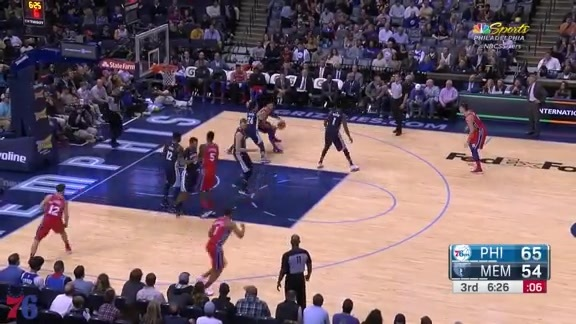 Highlights | Ben Simmons at Grizzlies (01.22.18)