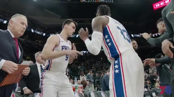Game Film | Sixers at Spurs (01.26.18)