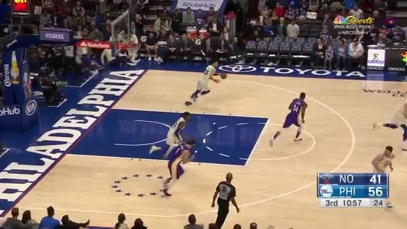 Highlights | Ben Simmons vs Pelicans (02.09.18)