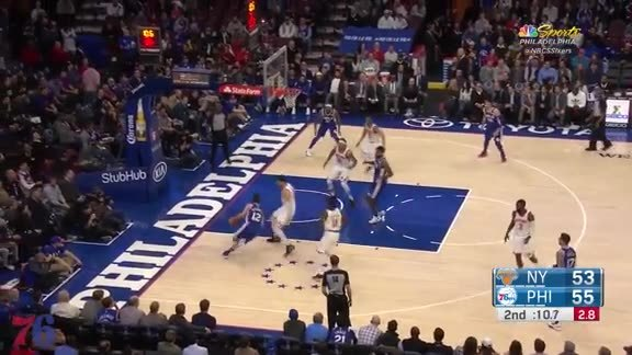 Highlights | TJ McConnell vs Knicks (02.12.18)
