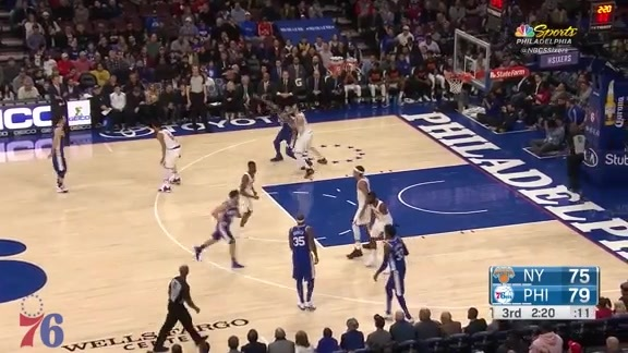 Highlights | Joel Embiid vs Knicks (02.12.18)