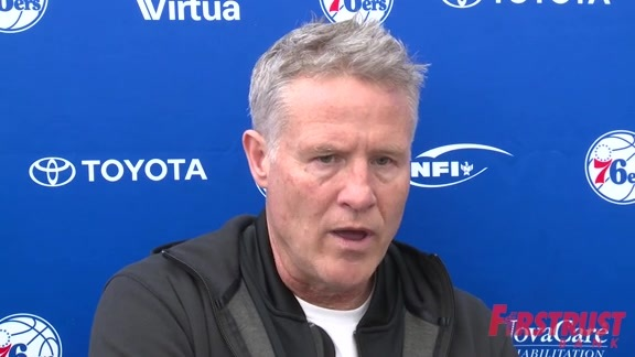 Practice | Brett Brown (02.21.18)