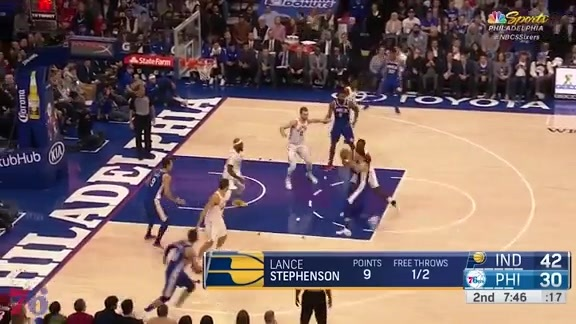 Highlights | Ben Simmons vs Pacers (03.13.18)