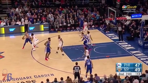 Highlights | Dario Saric at Knicks (3.15.18)