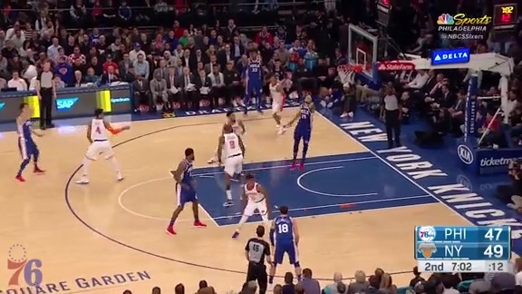 Highlights | 76ers, 118 at Knicks, 110 (3.15.18)