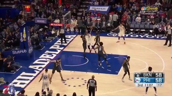 Highlights | 76ers, 120 vs Nets, 116 (3.16.18)
