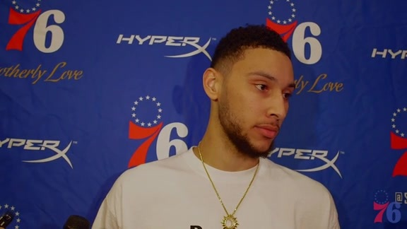 Postgame | Ben Simmons vs Nets (3.16.18)