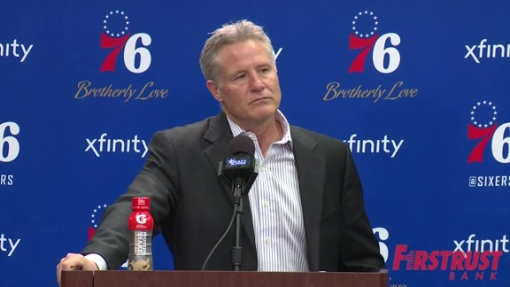 Postgame | Brett Brown vs Hornets (03.19.18)