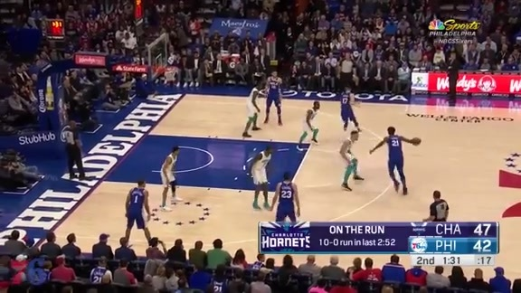 Highlights | JJ Redick vs Hornets (3.19.18)