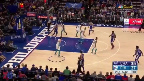 Highlights | Ben Simmons vs Hornets (3.19.18)