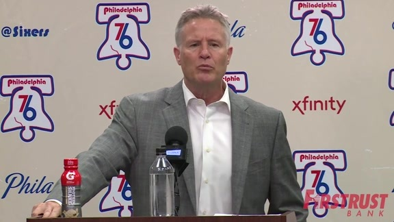 Postgame | Brett Brown vs Nets (04.03.18)