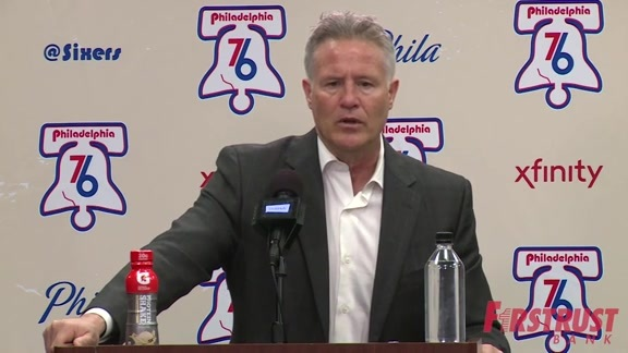 Postgame | Brett Brown vs Mavericks (04.08.18)