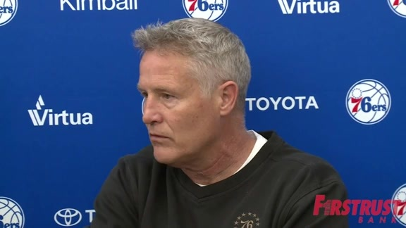 Brett Brown | Media Availability (04.12.18)