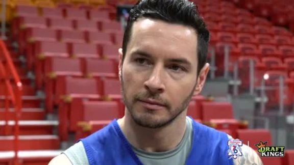 Shootaround | JJ Redick vs Heat (04.19.18)
