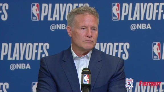 Postgame | Brett Brown vs Heat (04.19.18)