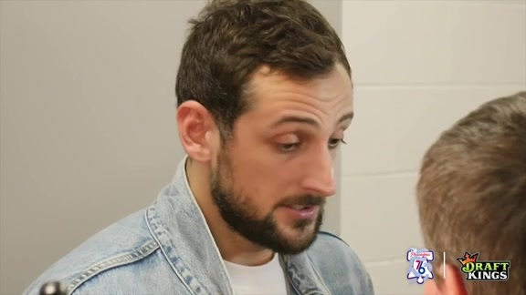 Postgame | Marco Belinelli at Heat (4.19.18)