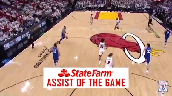 State Farm Assist of the Game | vs Heat (04.20.18)