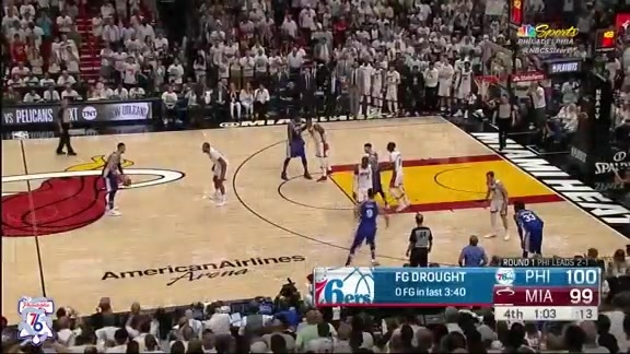 Game 4: Highlights | 76ers 106 at Heat 102 (04.21.18)