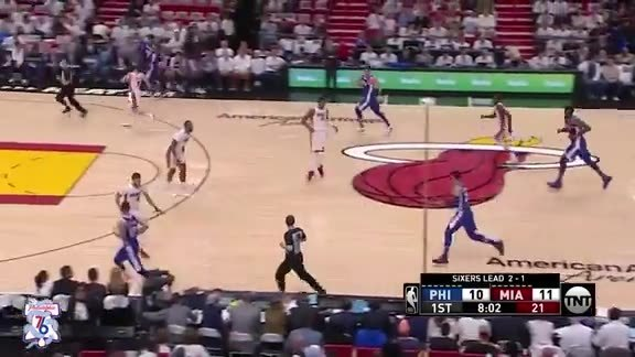 State Farm Assist of the Game   vs Heat (04.21.18)