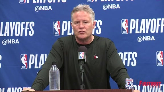 Pregame | Brett Brown vs Miami Heat (04.24.18)