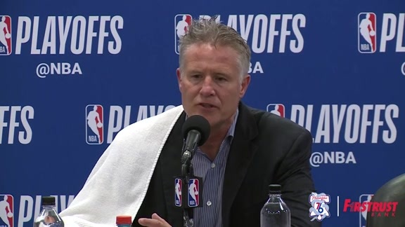 Postgame | Brett Brown vs Heat (04.24.18)