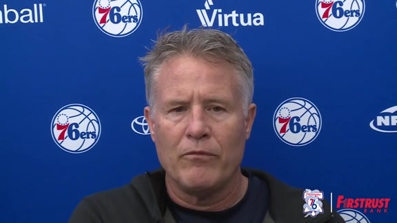 Practice | Brett Brown (04.28.18)