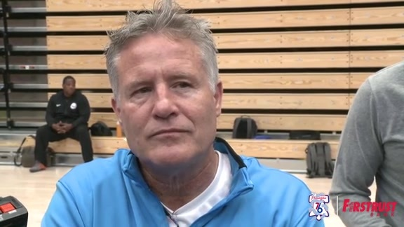 Playoff Practice | Brett Brown (05.01.18)