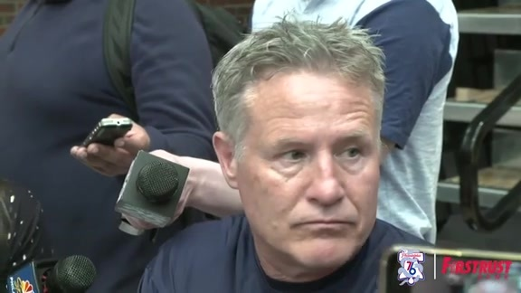 Playoff Practice | Brett Brown (05.02.18)