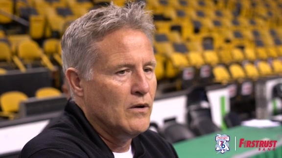 Shootaround | Brett Brown vs Celtics (05.03.18)