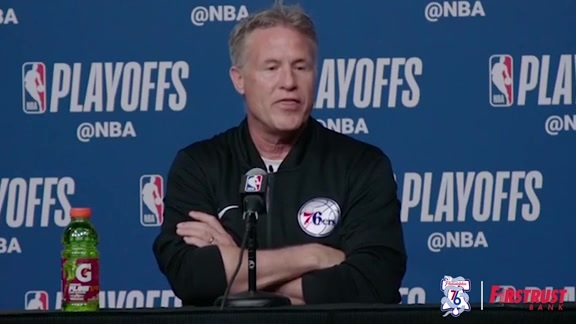 Pregame | Brett Brown vs Celtics (05.09.18)