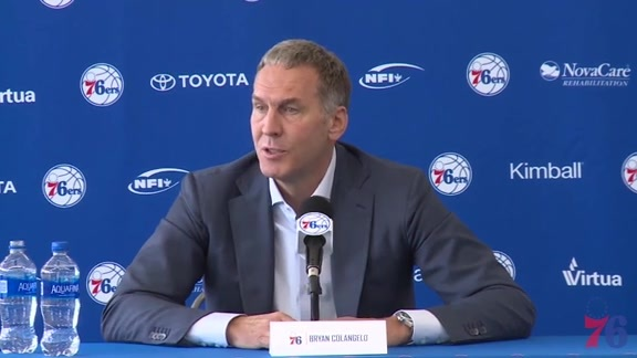 More to Do   Colangelo on Fultz