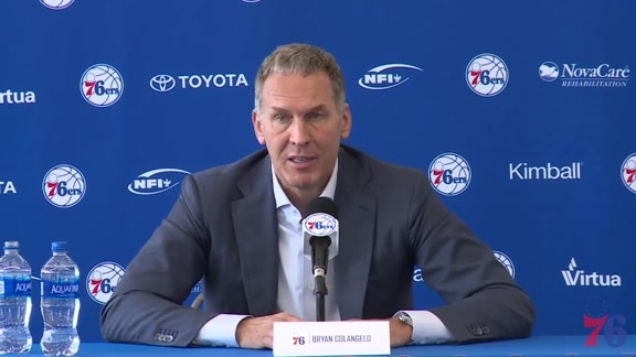 More to Do | Colangelo on International Prospects