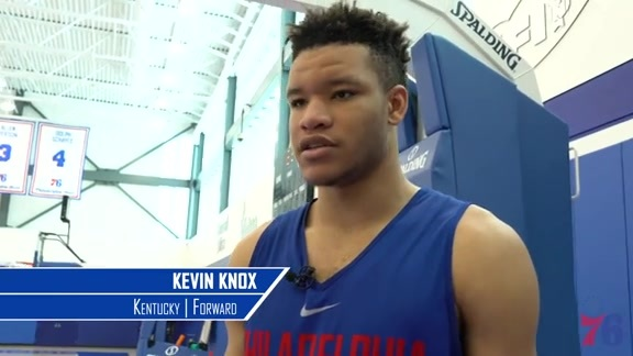 1-on-1 With Kevin Knox