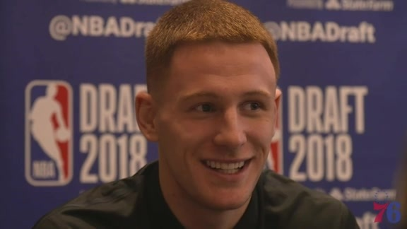 Donte DiVincenzo | NBA Draft Media Availability (6.20.18)