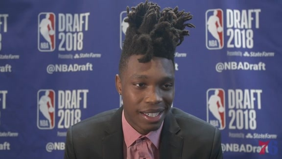 Lonnie Walker IV | NBA Draft Media Availability (6.20.18)