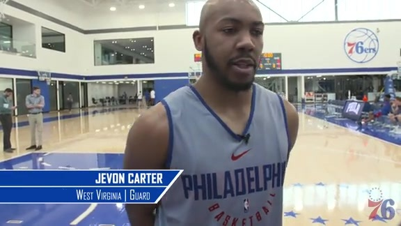 1-on-1 With Jevon Carter