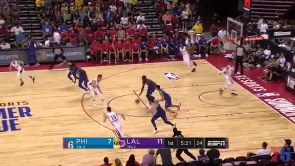 Highlights | Cam Oliver vs Lakers (7.7.18)
