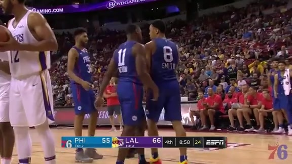Highlights | Zhaire Smith vs Lakers (7.7.18)