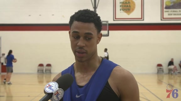 Media Availability | Zhaire Smith (7.11.18)