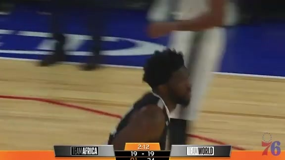 Highlights | Joel Embiid vs Team World (8.4.18)