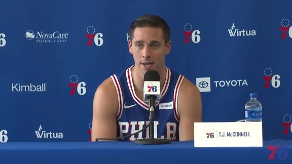 TJ McConnell | 2018-19 Media Day Availability