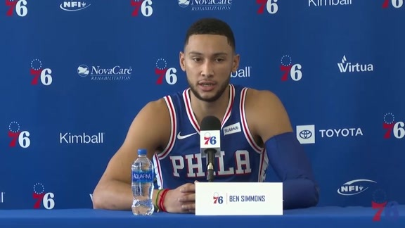 Ben Simmons | 2018-19 Media Day Availability