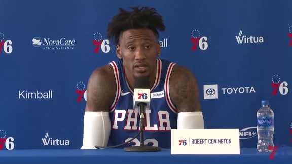 Robert Covington | 2018-19 Media Day Availability