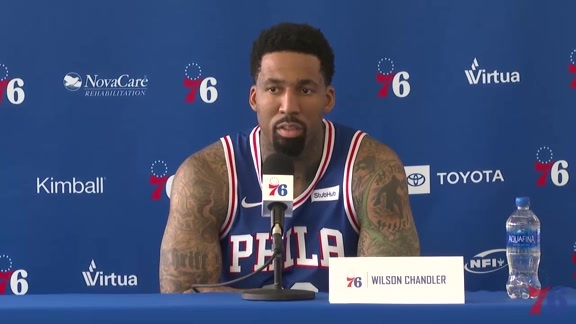Wilson Chandler | 2018-19 Media Day Availability